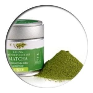 Green Matcha Mint in the tin 30 g