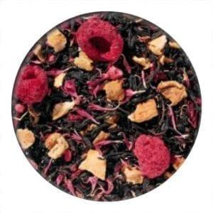 raspberry flavoured black tea loose leaf