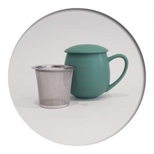 """Herb Tea Mug """"Saara"""" petrol"""