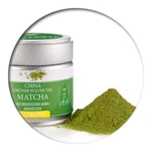 Green Matcha Lemon in the tin 30gr