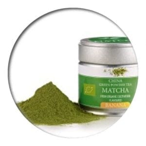 Green Matcha Banana in the tin 30gr