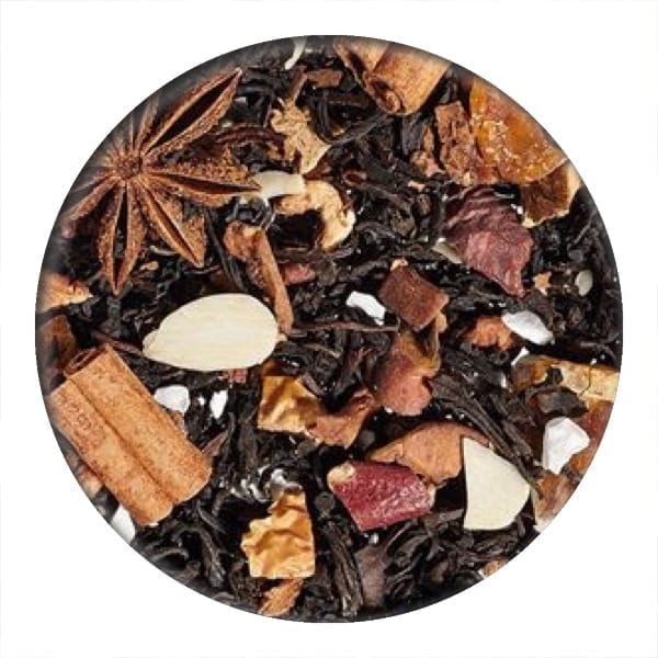 christmas parfait black and oolong tea