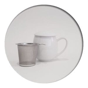 "Herb Tea Mug ""Saara"" White"