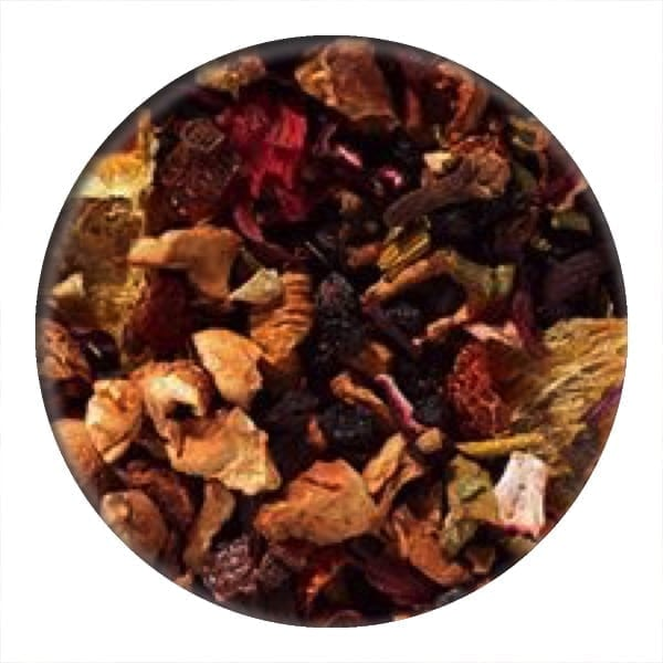 mulled wine fruit infusion tea