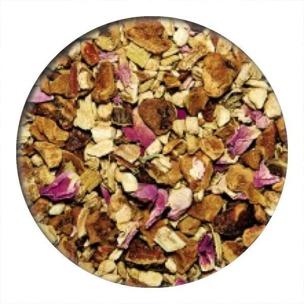 ginger tea, ginger dream, organic tea, loose leaf tea, herbal tea