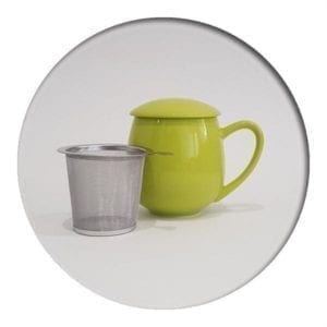 "Herb Tea Mug ""Saara"" Green"