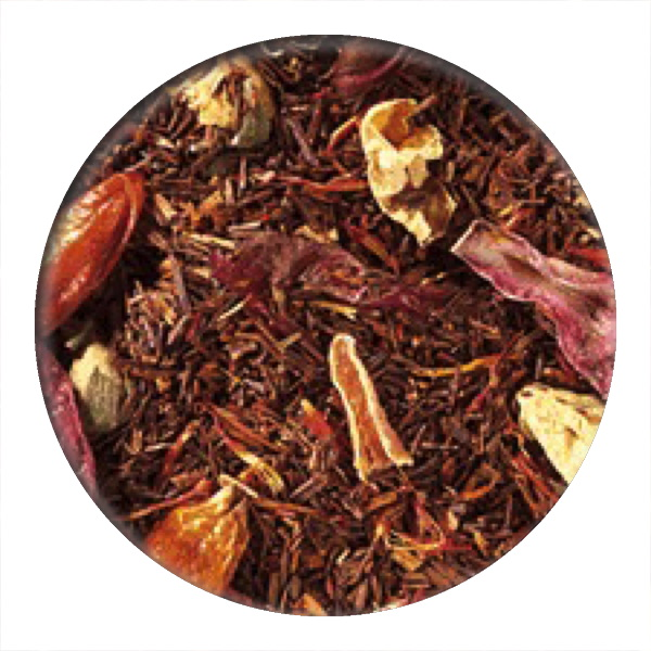 Racy Kiss Rooibos  one of our summer 2019 teas