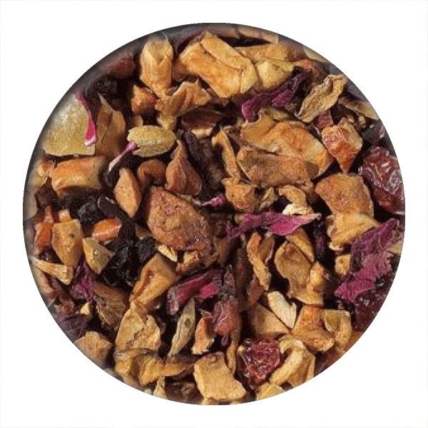 Ginger Peach Fruit Infusion one of our summer 2019 teas