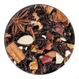 christmas parfait tea,black tea, oolong tea, christmas tea, loose leaf black tea