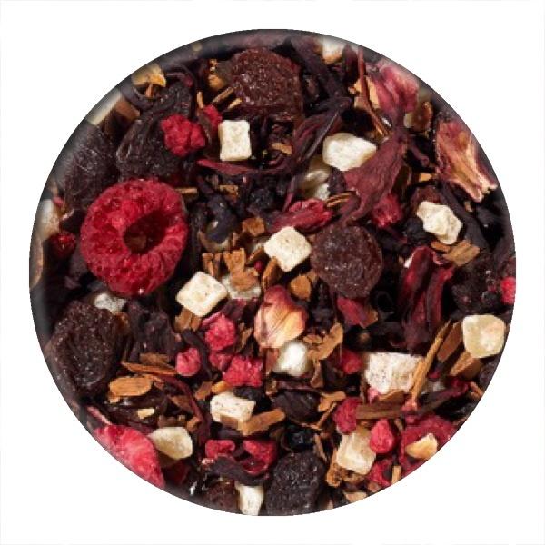 Raspberry and Cinnamon Fruit Infusion