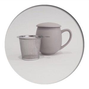 Tea Mug Grey