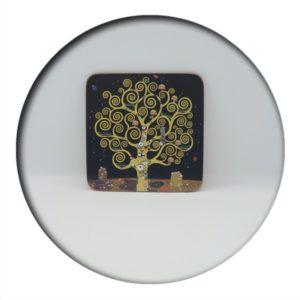 Klimt Tree of Life Coaster