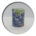 Van Gogh Irises Tin