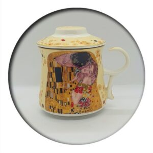 Klimt Mug with Infuser, boxed