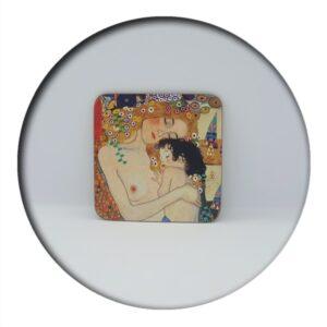Klimt Coaster Three Ages of Woman