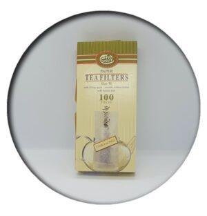 Tea Filters Size M Unbleached