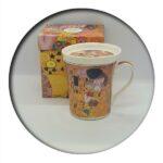 Art Gallery Klimt Mug with Infuser