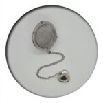 Tea Ball with Zinc Alloy Heart