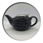 Tea Pot Black Wave 0.75 ml