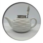 Tea Pot White Wave 0.75 ml