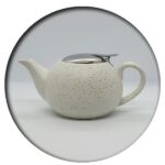 White Speckled Tea Pot 500 ml