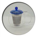 Fabi Glass Tea Pot 0.7 L with infuser