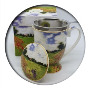 Monet Mug with Infuser and Lid