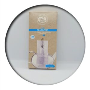 Tea Filters size L Unbleached