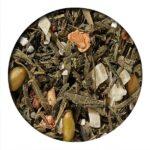 Baklava and Pistachio Green Tea